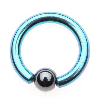 piercing jewel - Metallic Blue - 4mm