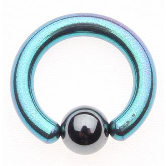 piercing jewel - Metallic Blue - 6mm