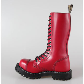 boots STEEL -15 eyelet red colorful (135/136 Full Red)