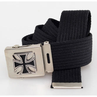belt Cross - Black, BLACK & METAL