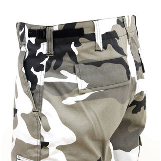 pants mens SURPLUS - RANGER TROUSER - WHITE Camo - 05-3581-26