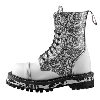 boots STEADY´S - 10 eyelet - White Rose, STEADY´S