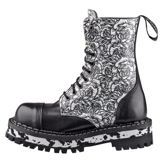 boots STEADY´S - 10 eyelet - Black Rose, STEADY´S