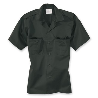 shirt SURPLUS - US Hemd 1/2 - BLACK - 06-3582-03