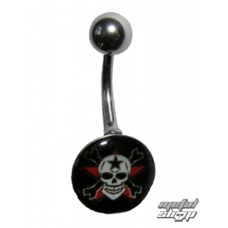 piercing jewel Skull - 1PCS - L 096 - MABR