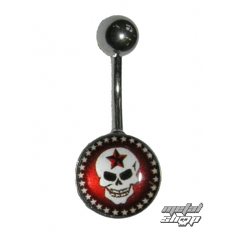 piercing jewel Skull - 1PCS - L 090 - MABR