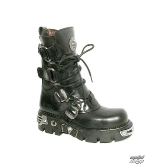 boots leather - Ring Boots (575-S1) Black - NEW ROCK - M.575-S1