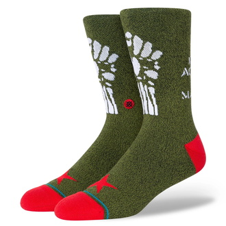 Socks Rage against the machine - RENEGADES - ARMY GREEN - STANCE, STANCE, Rage against the machine