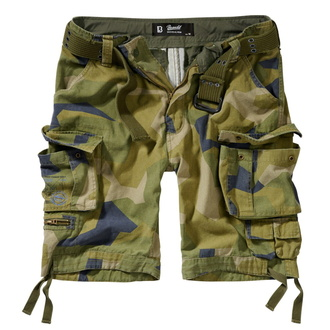 Men´s shorts BRANDIT - Savage Vintage Cargo - 2001-swedish camo