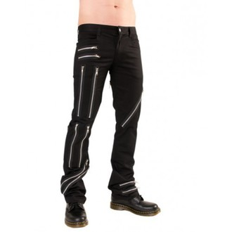 pants men Black Pistol - Zipper Pants Denim Black - B-1-25-001-00