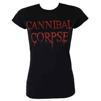 t-shirt metal women's Cannibal Corpse - DRIPPING LOGO - PLASTIC HEAD, PLASTIC HEAD, Cannibal Corpse