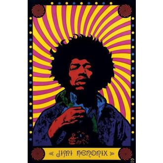 poster Jimi Hendrix (Psychedelic) - PP30356 - Pyramid Posters