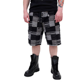shorts men SURPLUS - KILBURN SHORTS - BLACK - 05-5651-03