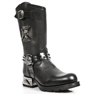 leather boots women's - ITALI ANTIK MOTOROCK T.ACERO - NEW ROCK