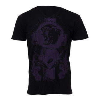 t-shirt men SOMETHING SACRED - Tiger Cross - SSW-02