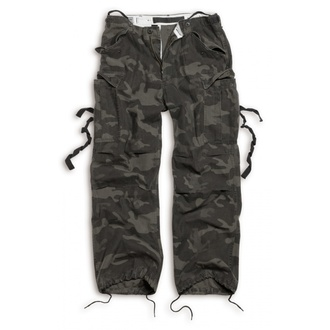 pants SURPLUS - Vintage - BLACK CAMO - 05-3596-42