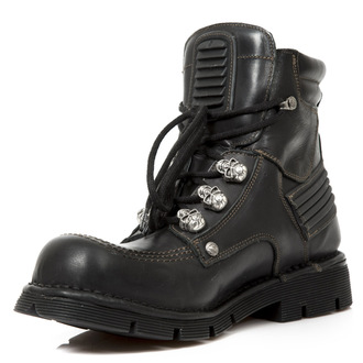 boots leather - ITALI PLANING NEGRO SIN - NEW ROCK - M.1485-S1