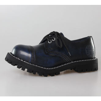 boots STEEL - 3 eyelet blue (101/102 Blue)