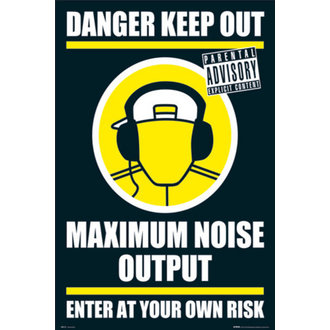 poster - DANGER KEEP OUT II - GN0139 - GB posters