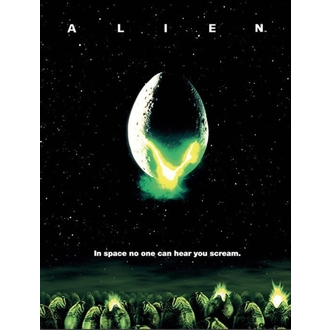Painting Alien - One-sheet - PYRAMID POSTERS, PYRAMID POSTERS, Alien