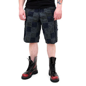shorts men SURPLUS - Checkboard - BLUE - 05-5650-10