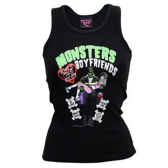 top women KREEPSVILLE SIX SIX SIX - monster boyfriends glitter beater č.23