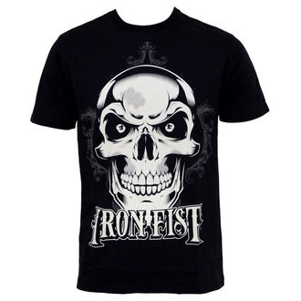 t-shirt street men's - New Deal Skull - IRON FIST - IFM0016