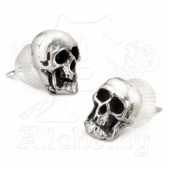 earrings Death studs E76 - Alchemy Gothic