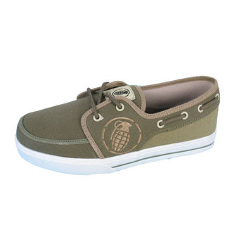 low sneakers men's - GRENADE - Boat shoes, GRENADE