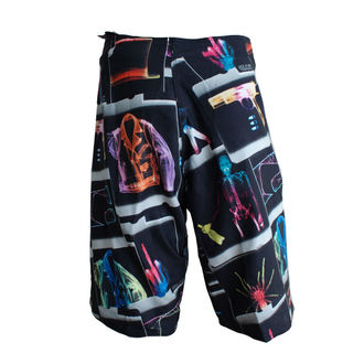 swimsuits men (shorts) GLOBE - Dion 22 Signature Boardie - BLACK