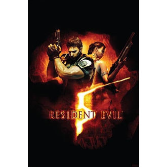 poster Resident Evil 5 (BOX ART) - PP31863 - PYRAMID POSTERS