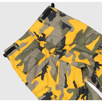 pants men US BDU - ARMY - YELLOW GREEN CAMO