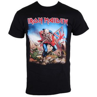 t-shirt metal men's Iron Maiden - The Trooper - ROCK OFF - IMTEE03