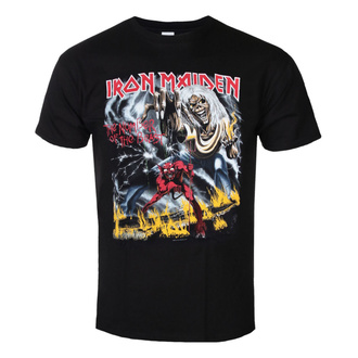 t-shirt metal Iron Maiden - The Number of the Beast - ROCK OFF - IMTEE05MB