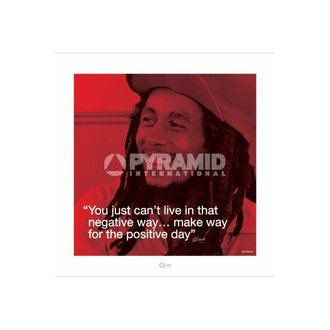 poster Bob Marley (I.Quote - Positive Day) - Pyramid Posters - PPR45232