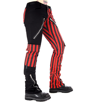 pants men Black Pistol - Freak Pants Stripe (Black / Red) - B-1-21-319-04