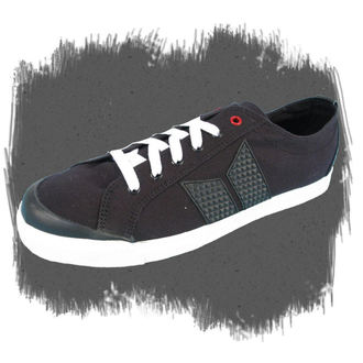 low sneakers men's - ELIOT - MACBETH - BLACK/WHITE