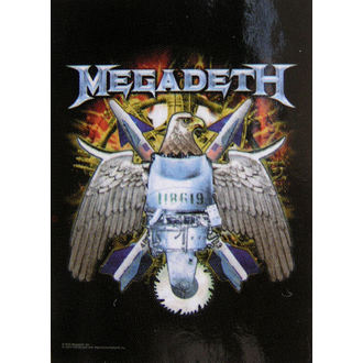 flag Megadeth - Eagle - HFL0706
