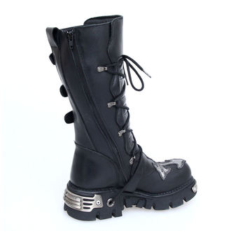 boots leather - Cross Boots (403-S1) Black - NEW ROCK