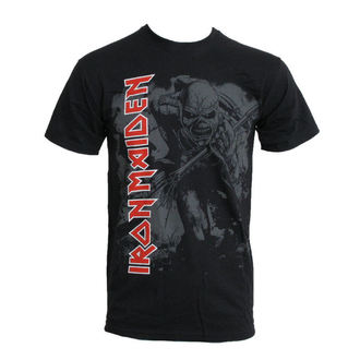 t-shirt metal men's Iron Maiden - Hi Contrast Trooper - ROCK OFF - IMTEE04