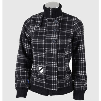 spring/fall jacket - Moloko WMNS - MEATFLY - C - BLACK-GREY PLAID