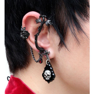 earrings Rose of Passion (single) ALCHEMY GOTHIC - E276