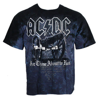 t-shirt metal men's AC-DC - For Those About to Rock - LIQUID BLUE - 11868