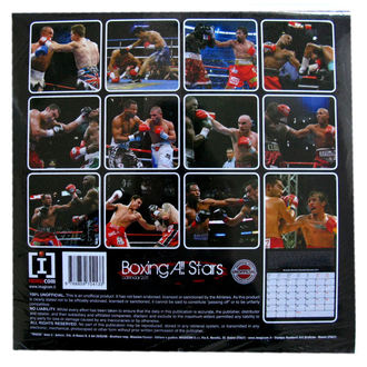 calendar wall Boxing All Stars 2011