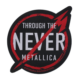 Patch Metallica - Through The Never - RAZAMATAZ - SP2727