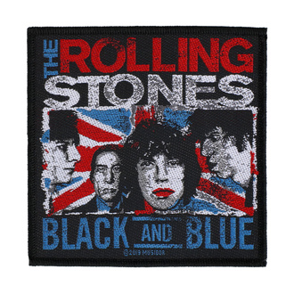Patch The Rolling Stones - Black And Blue - RAZAMATAZ, RAZAMATAZ, Rolling Stones