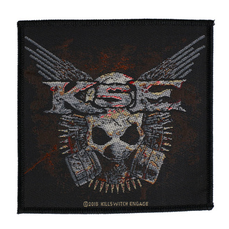 Patch Killswitch Engage - Gas Mask - RAZAMATAZ, RAZAMATAZ, Killswitch Engage