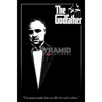 poster The Godfather (Red Rose) - PYRAMID POSTERS - PP30558