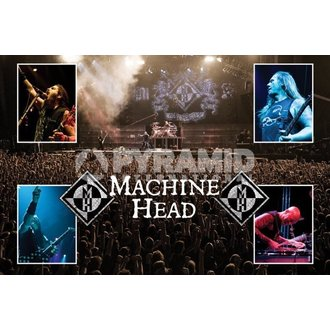 poster Machine Head (Live) - PYRAMID POSTERS - PP32143