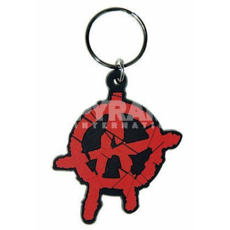 key ring (pendant) Anarchy - PYRAMID POSTERS - RK38016